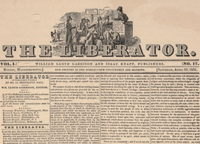 analysis of the anti slavery campaign by william lloyd garrison William lloyd garrison boston: r f wallcut, 1852 declaration of sentiments of the american anti-slavery convention done at philadelphia, december6th, a d1833.